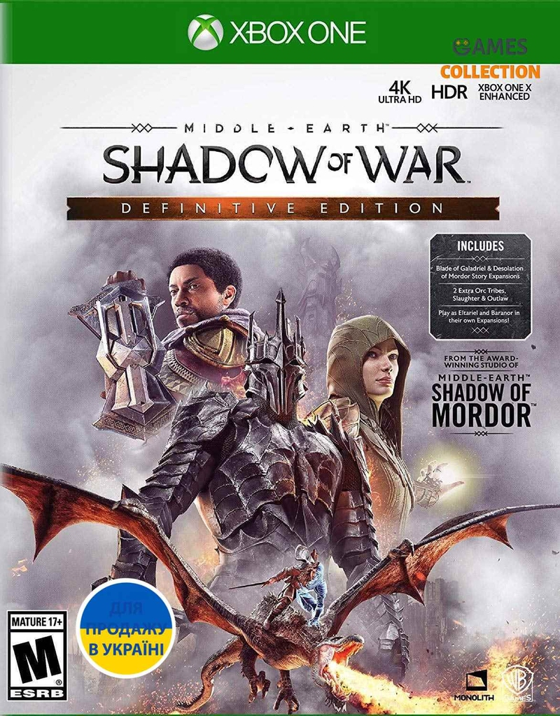 Middle-Earth: Shadow of War Definitive Edition (Xbox One)-thumb