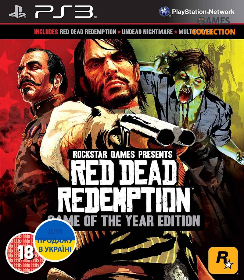 Red Dead Redemption: Game of the Year Edition (PS3)-thumb