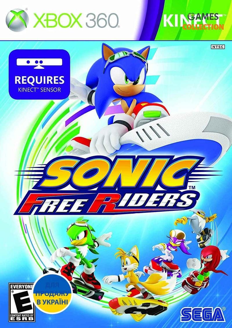 Sonic Free Riders для Kinect (XBOX360) Б/у-thumb
