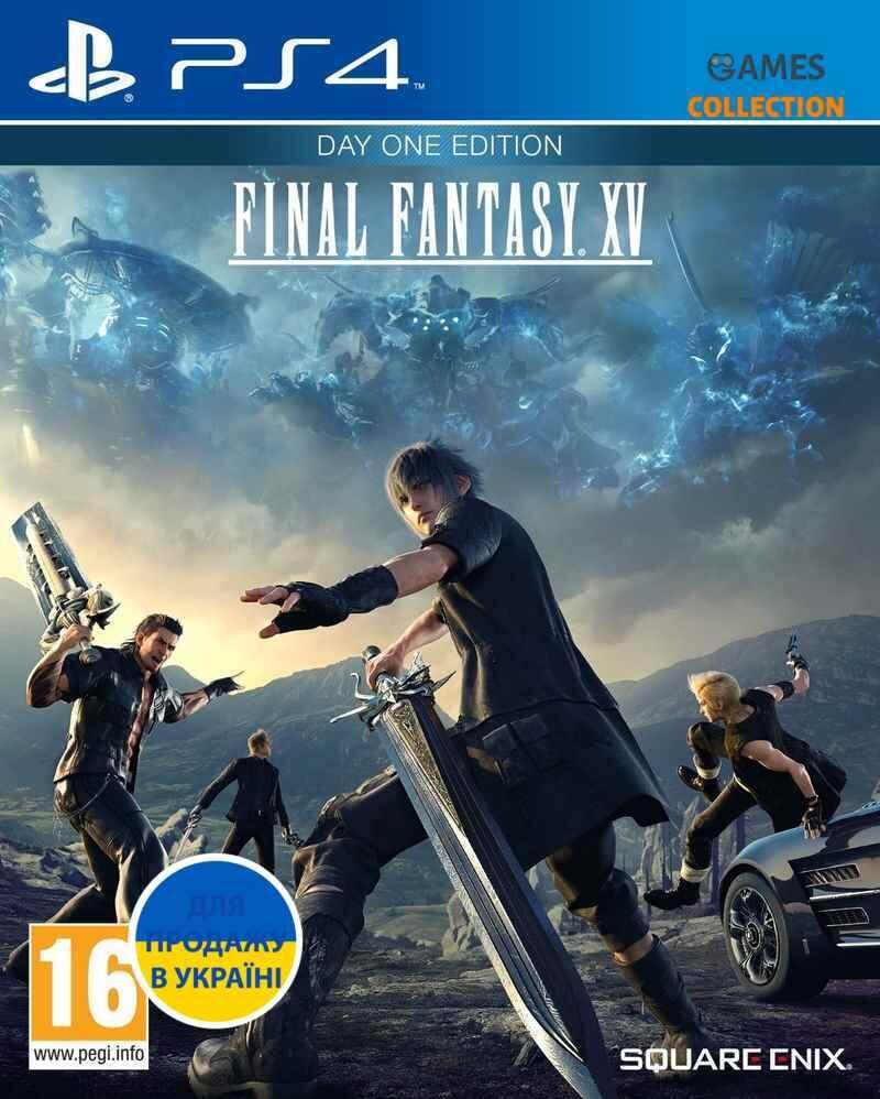 Final Fantasy XV: Day One Edition (PS4)-thumb