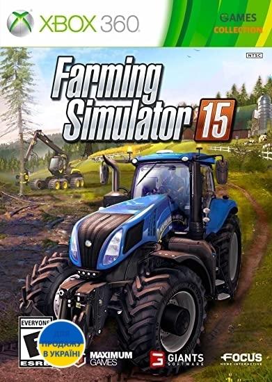 Farming Simulator (Xbox 360) Б/У-thumb