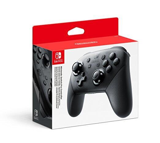 Контроллер Nintendo Switch Pro (Switch)-thumb