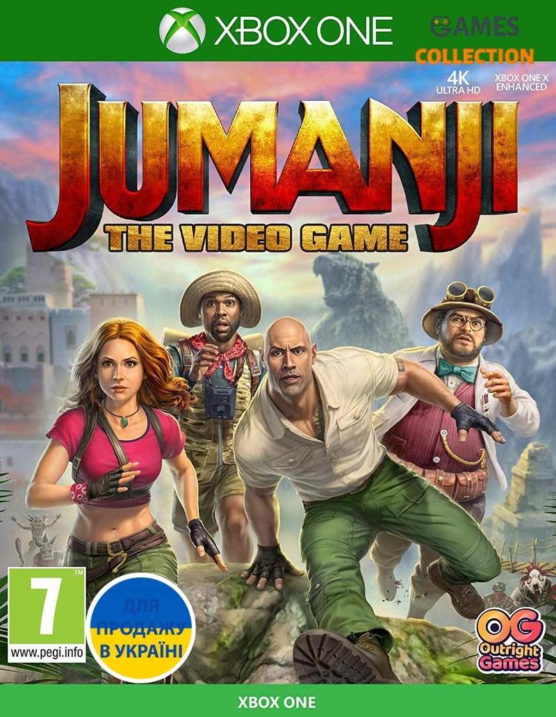 Jumanji: The Video Game (XOne)-thumb