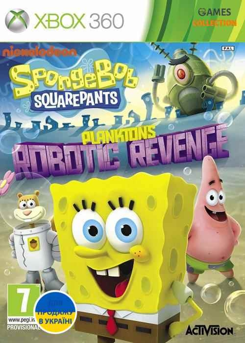 SpongeBob SquarePants: Plankton's Robotic Revenge (XBOX360)-thumb