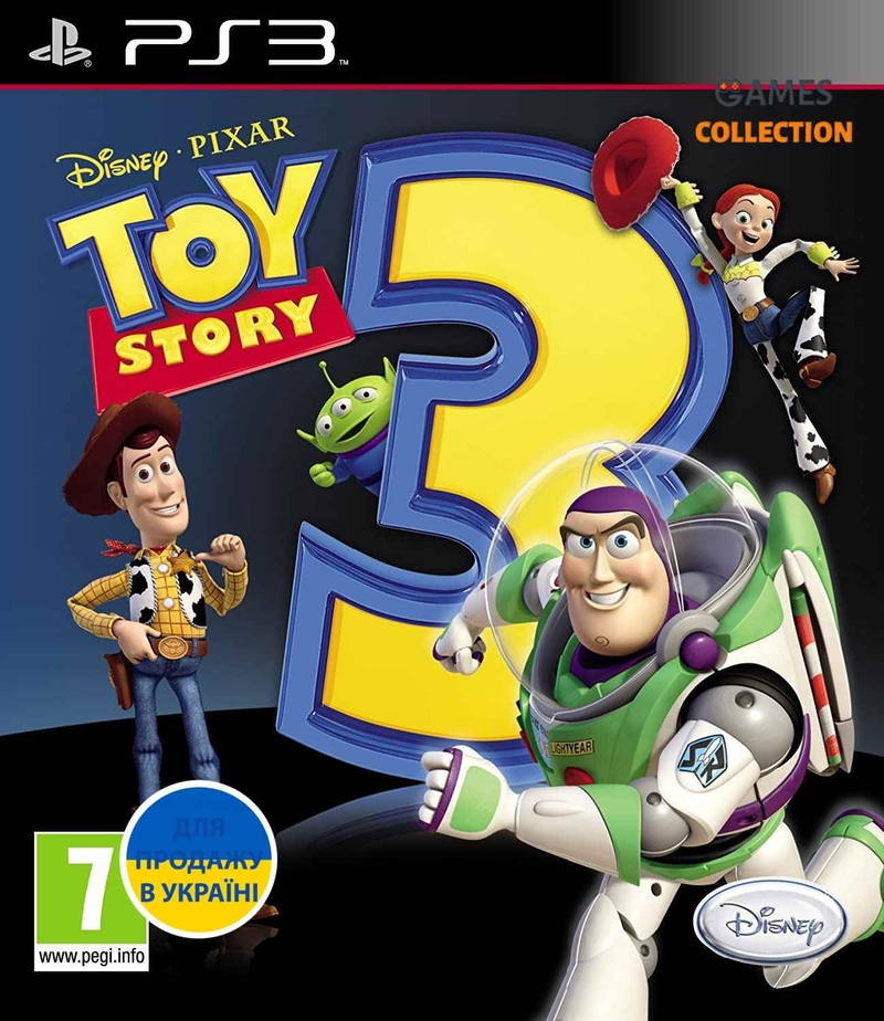 Toy Story 3: The Video Game (PS3)-thumb