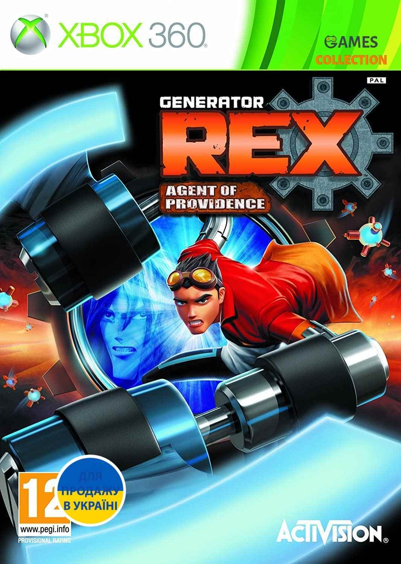 Generator Rex: Agent of Providence (XBOX360)-thumb