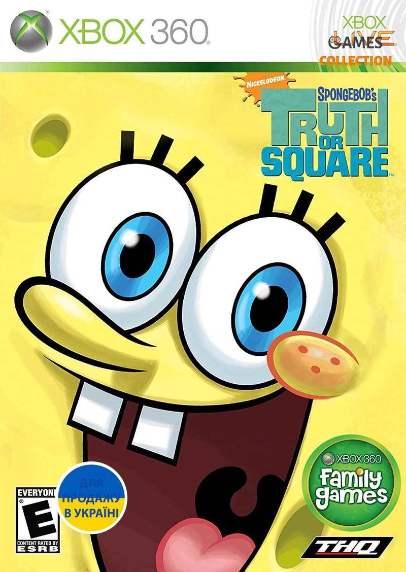 SpongeBob: Truth or Square (XBOX360)-thumb