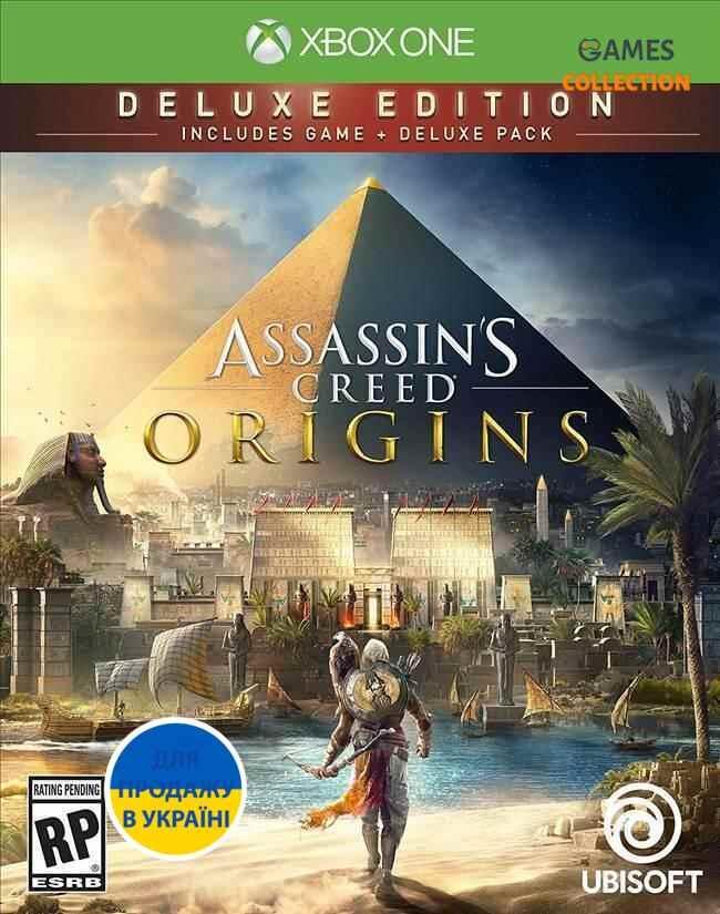 Assassin's Creed: Истоки (Origins). Deluxe Edition [Xbox One]-thumb