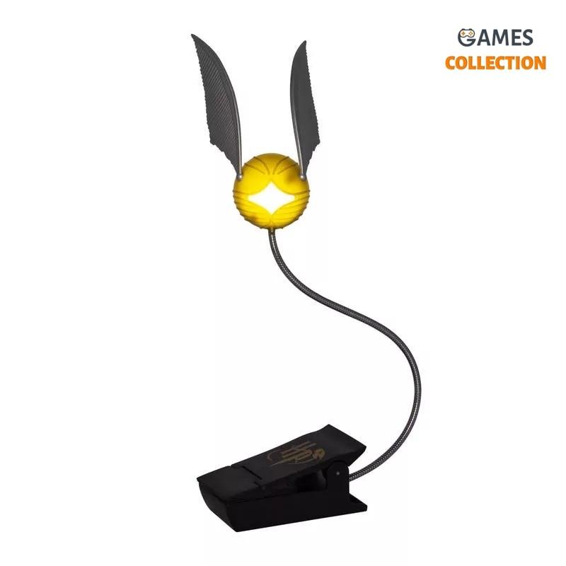Настольная Лампа-ночник Золотой Снитч-thumb