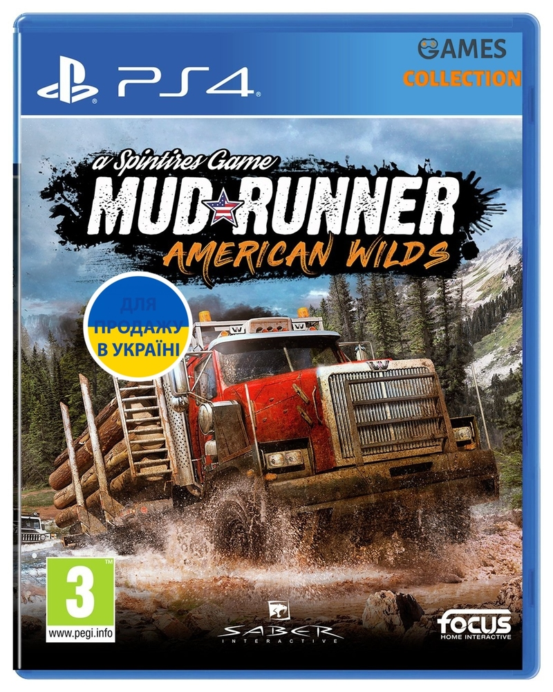 Spintires: Mud Runner – American Wilds (PS4)-thumb