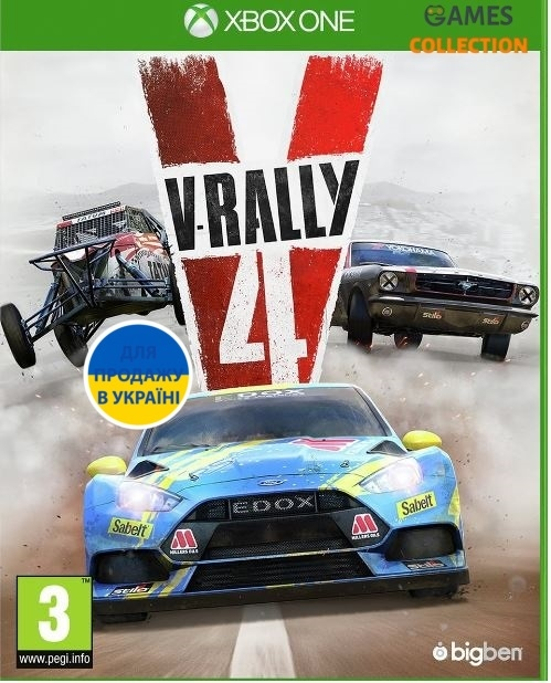 V-RALLY 4 (XBox One)-thumb