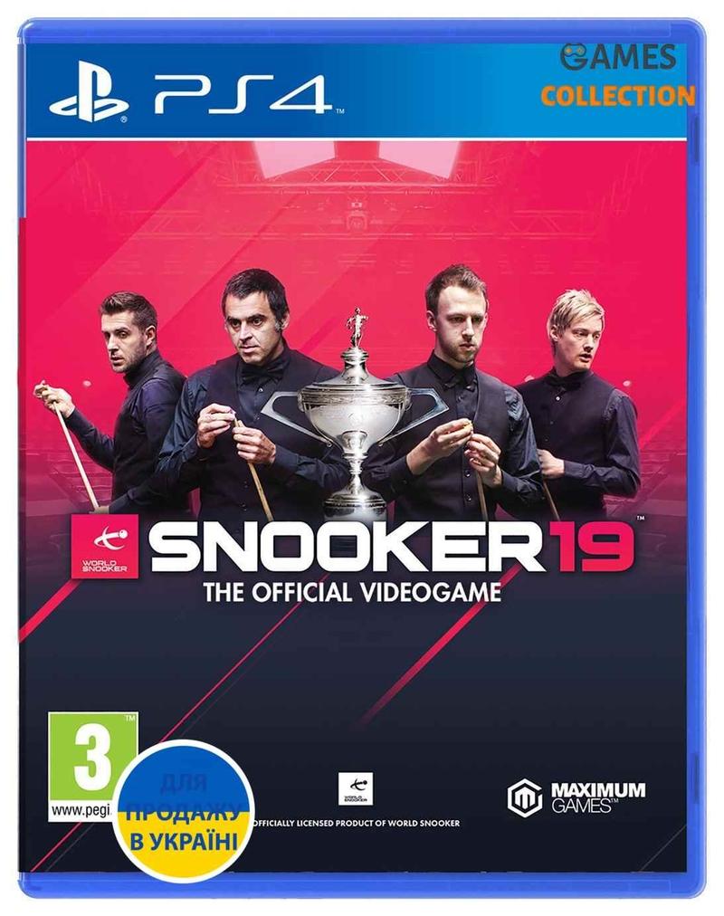 Snooker 19 (PS4)-thumb