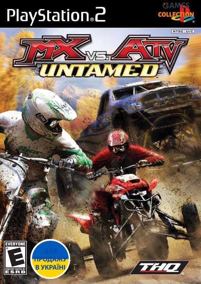 MX vs ATV Untamed(PS2)-thumb