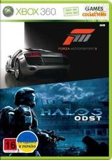Forza 3/Halo ODST (XBOX 360) Б/У-thumb