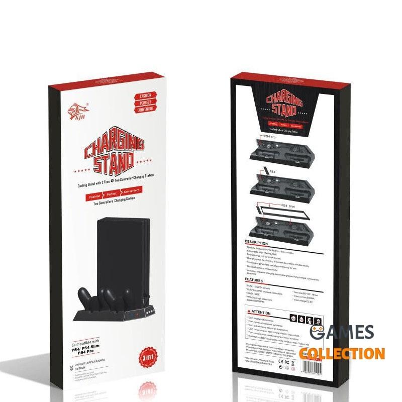 Многофункциональное зарядное устройство + кронштейн (PS4)-thumb