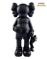 KAWS SHARE COMPANION Black/Black (31см)-thumb
