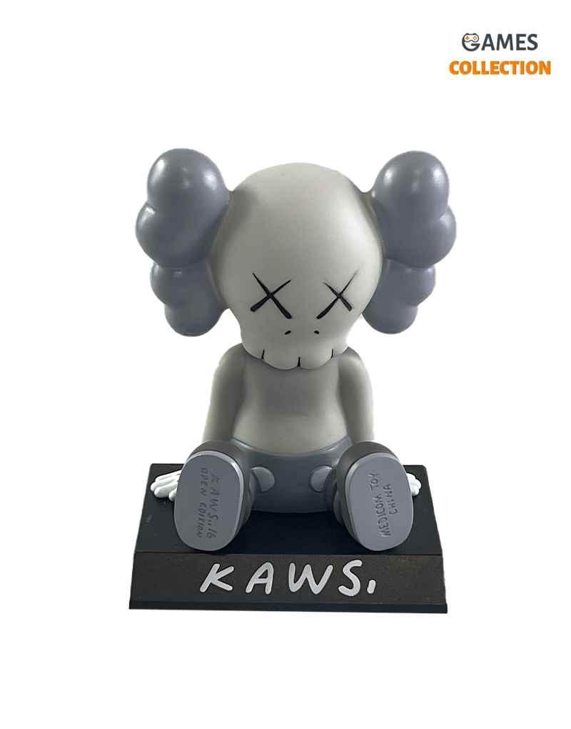 KAWS COMPANION Toy Car Grey (13см)-thumb