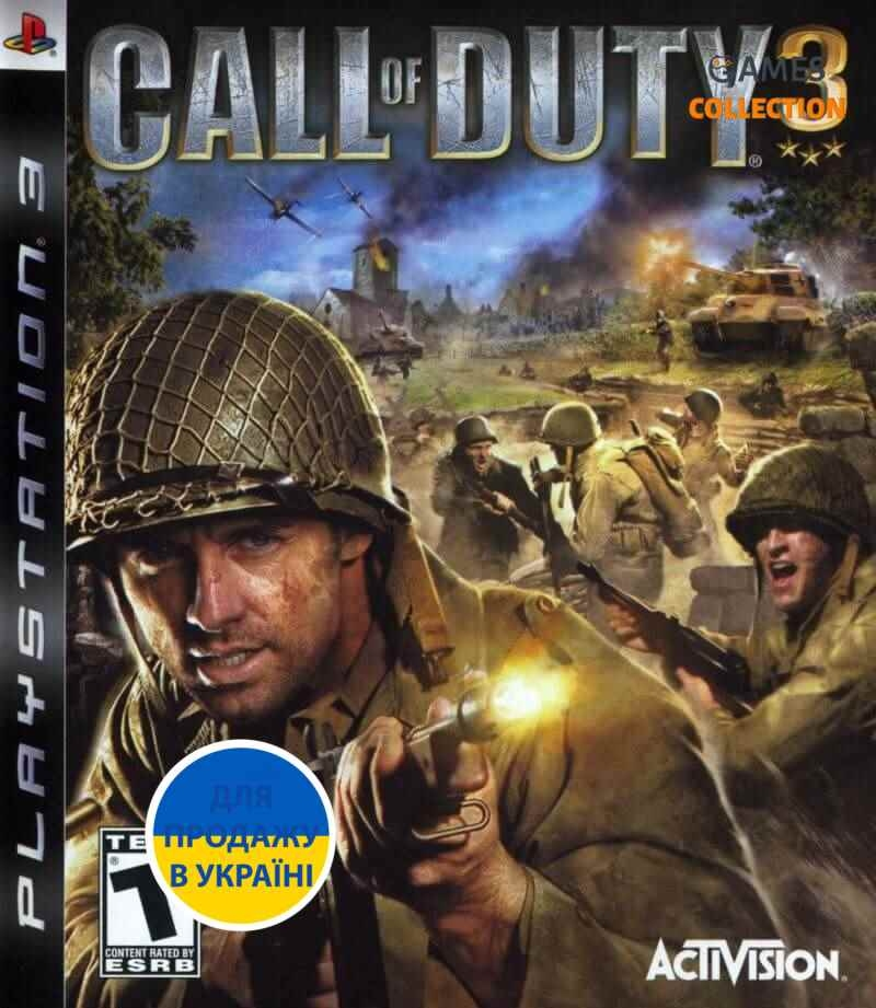 Call of Duty 3 (PS3)-thumb