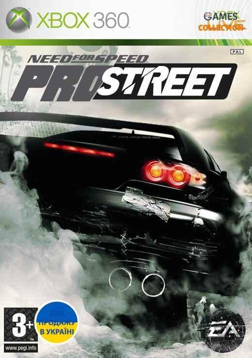 Need for Speed: ProStreet (XBOX360) Б/у-thumb