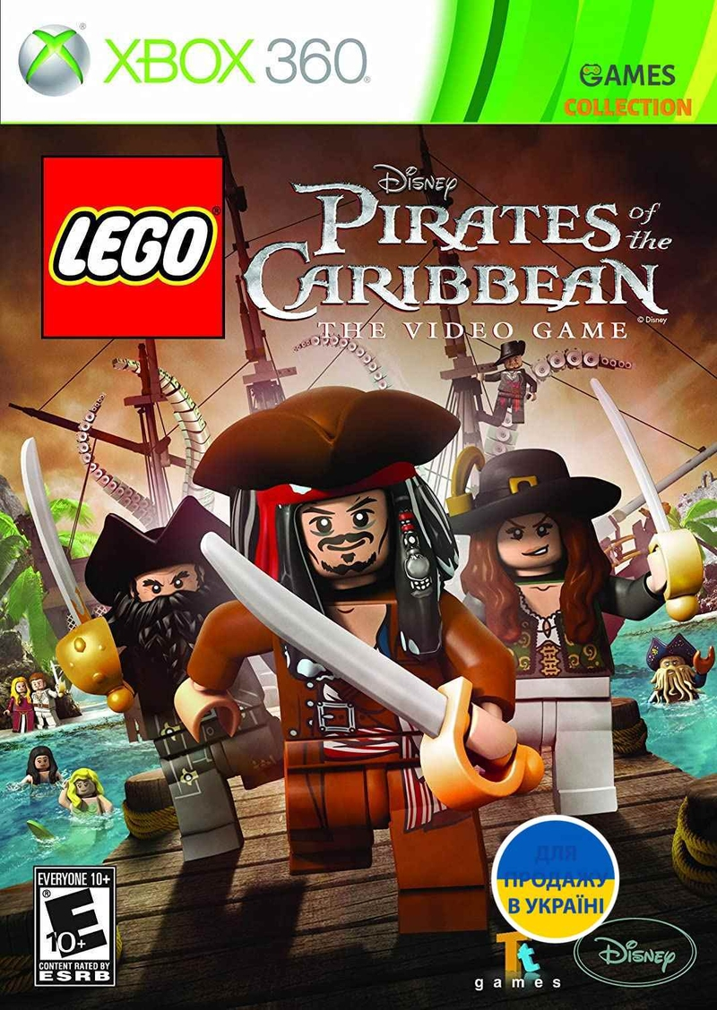 LEGO Pirates of the Caribbean: The Video Game (XBOX360)-thumb