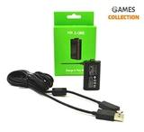 Xbox One Play & Charge Kit 1 аккумулятор 1 провод (Xbox one)-thumb