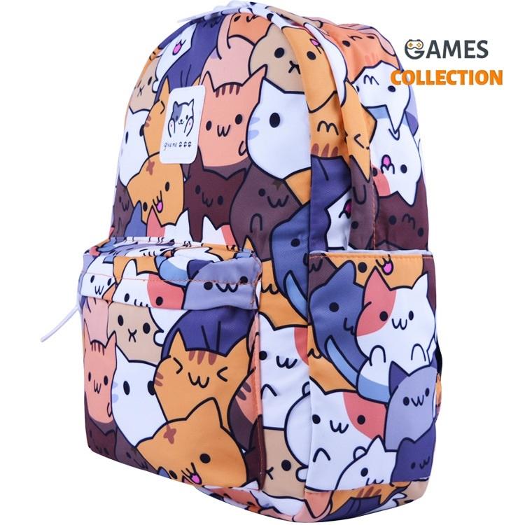 Няшный  Рюкзак с котиками-thumb