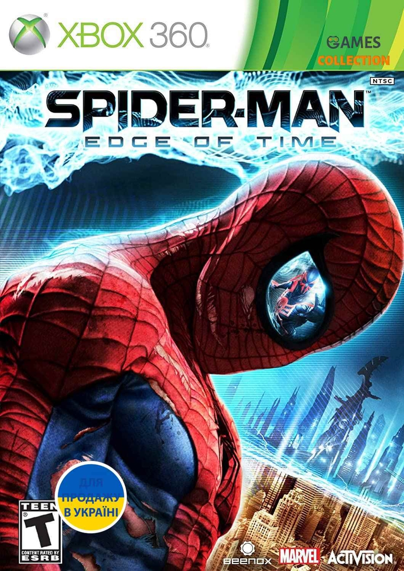 Spider-Man: Edge of Time (XBOX360)-thumb