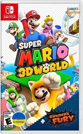 Super Mario 3D World + Bowsers FURY (Switch)-thumb