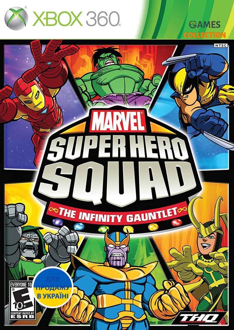 Marvel Super Hero Squad: The Infinity Gauntlet (XBOX360)-thumb