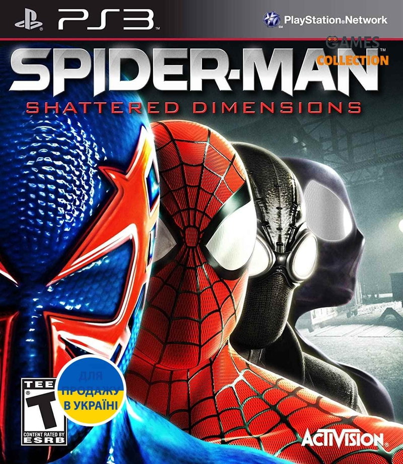 Spider-man: Shattered Dimensions (PS3)-thumb