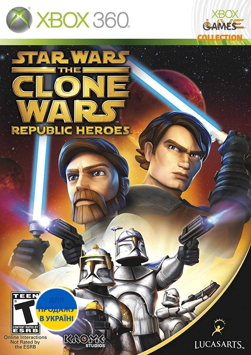 Star Wars The Clone Wars: Republic Heroes (XBOX360)-thumb