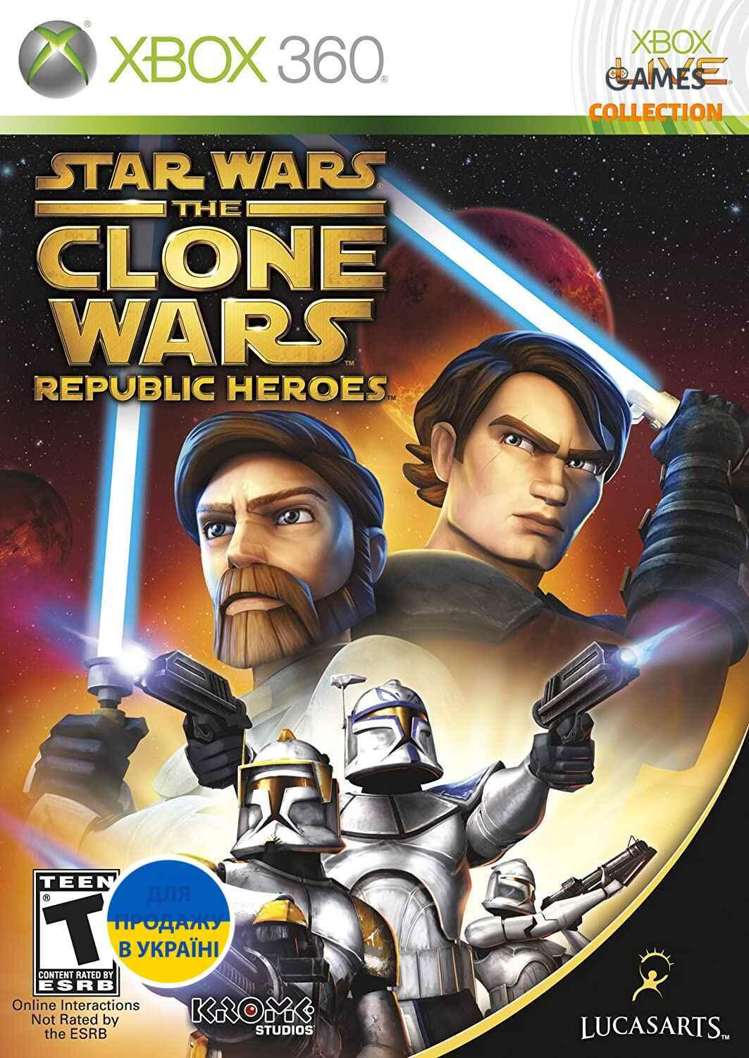 Star Wars The Clone Wars: Republic Heroes(XBOX360)-thumb
