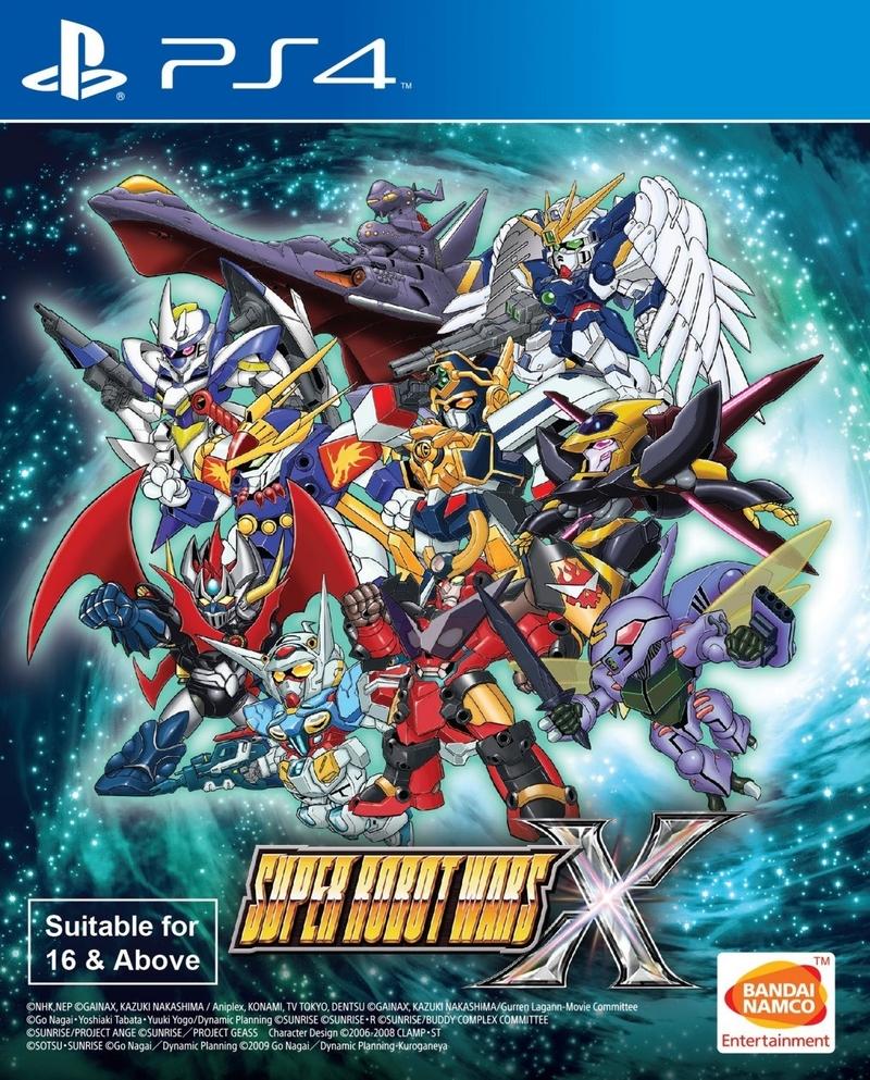 SUPER ROBOT WARS X # (ENGLISH SUBS) (PS4)-thumb
