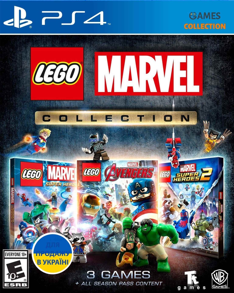 LEGO Marvel Collection (PS4)-thumb