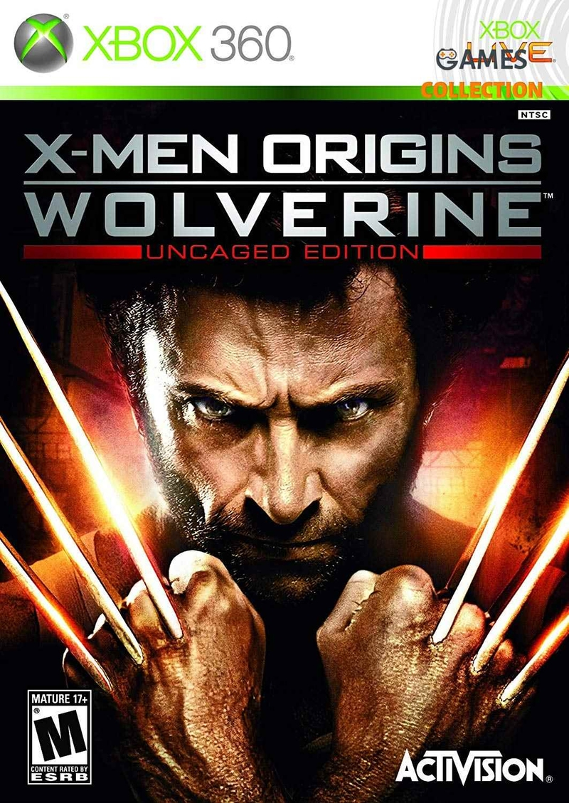 X-Man Origins Wolverine (XBOX 360) Б/У-thumb