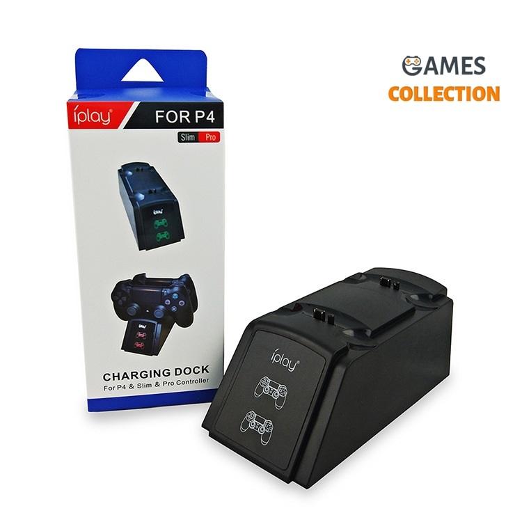 Зарядное устройство со светодиодным дисплеем (PS4)-thumb