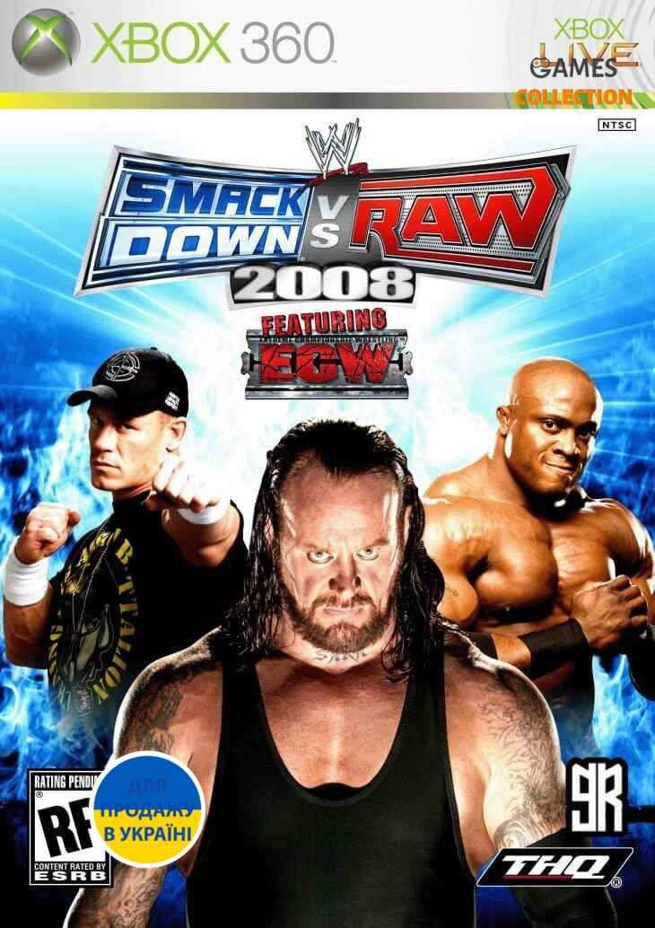 WWE SmackDown! vs. RAW 2008 (XBOX360)-thumb