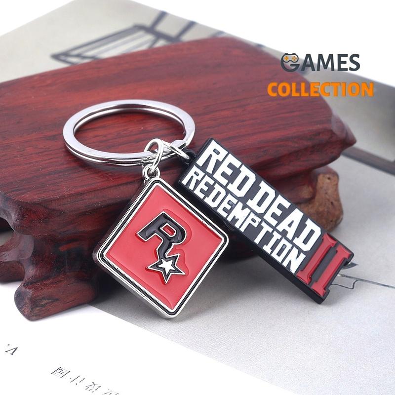 Red Dead Redemption 2в1 (Брелок)-thumb