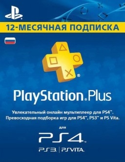 Playstation Plus : Подписка 12 месяцев-thumb