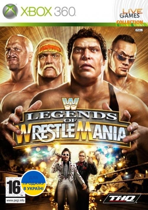 WWE: Legends of Wrestlemania (XBOX360)-thumb