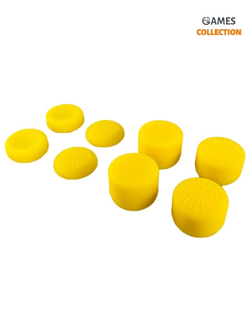 Стики для Джойстика Универсальные PS5/PS4 Желтые-thumb
