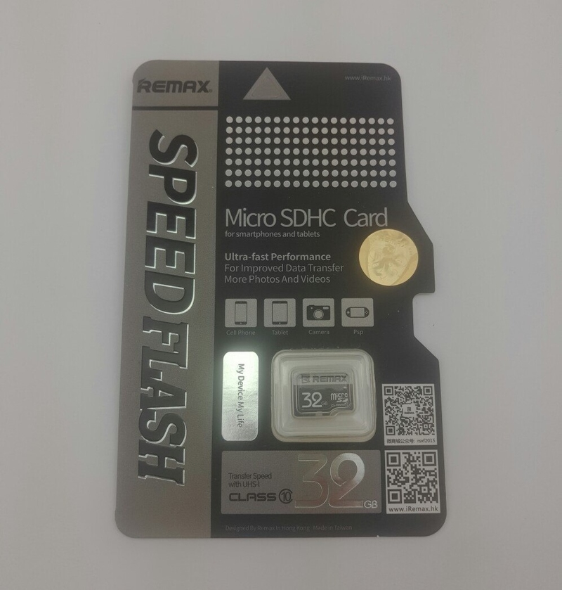 Карта памяти REMAX MicroSD 32GB Class 10 SpeedFlash-thumb