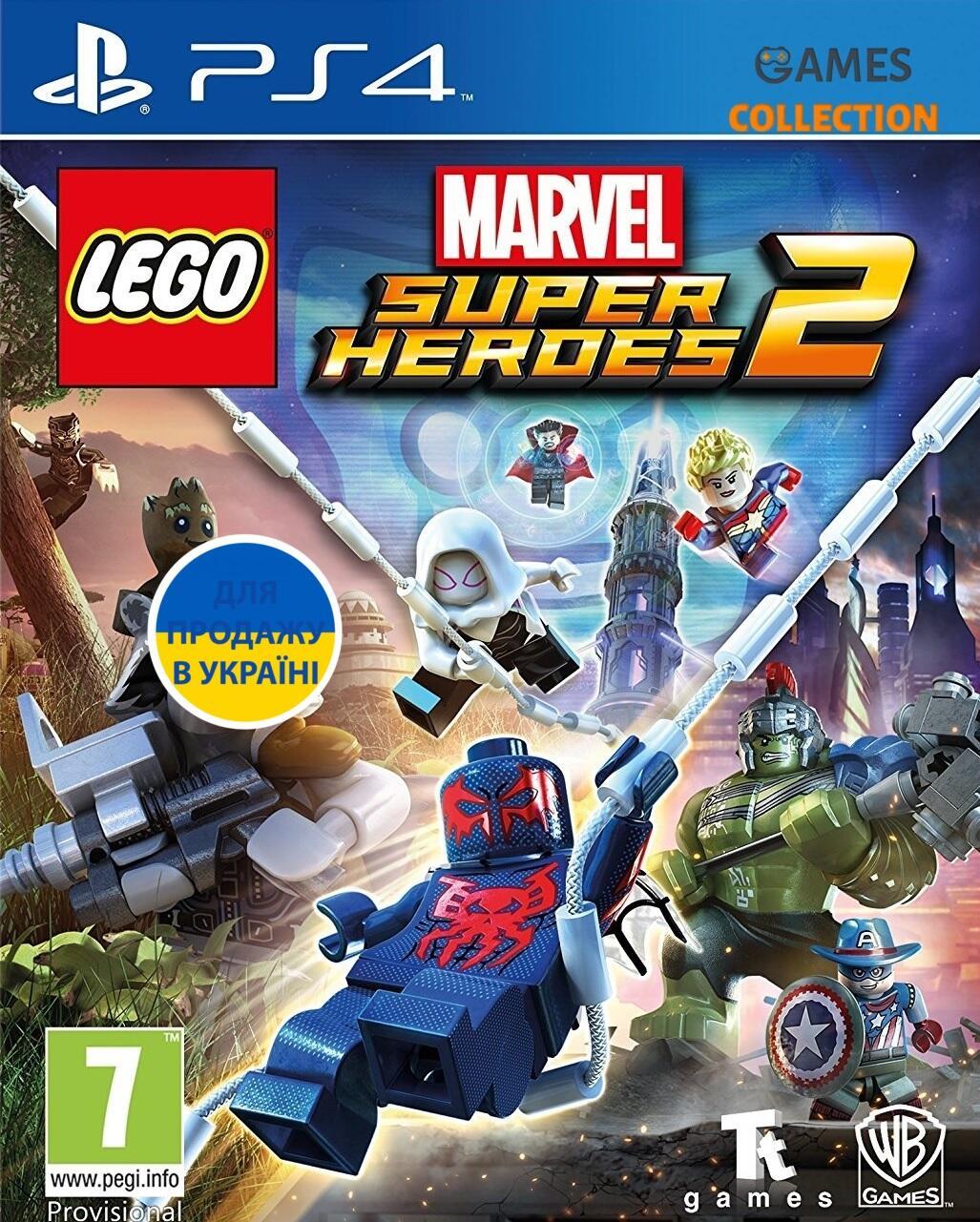LEGO Marvel Super Heroes 2 (PS4)-thumb