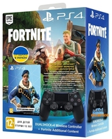 Fortnite DualShock 4 Wireless Controller & Bonus Content Bundle-thumb