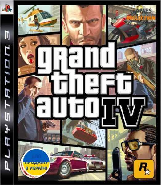 Grand Theft Auto 4 IV (PS3)-thumb