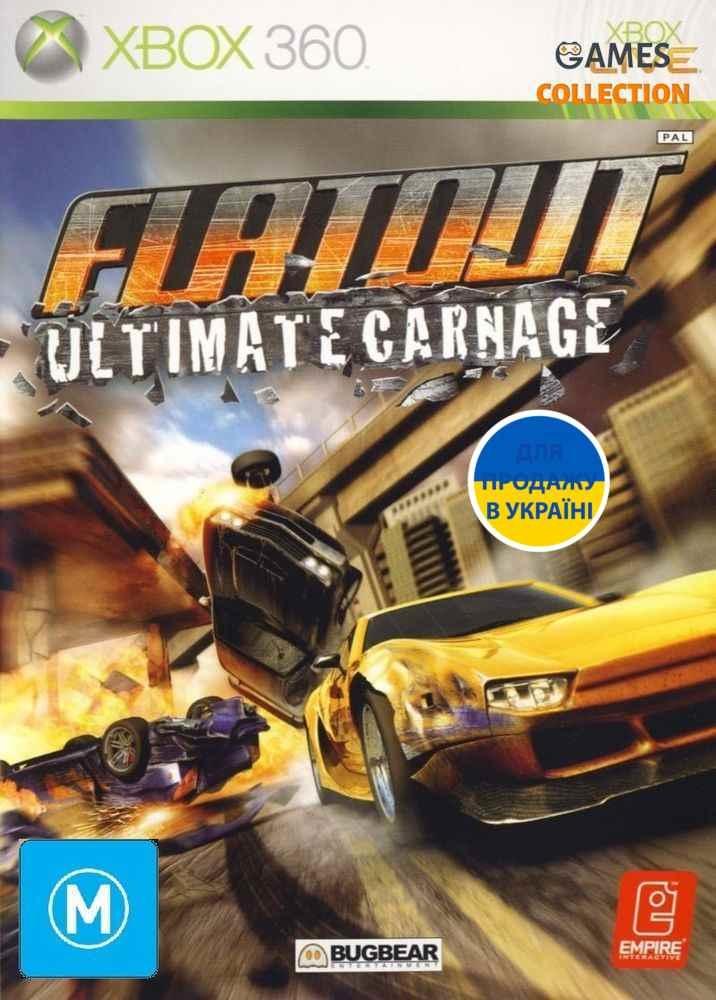 FlatOut: Ultimate Carnage (XBox 360) Б/У-thumb
