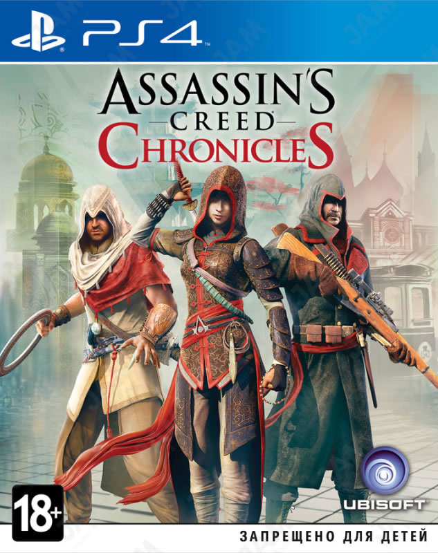 Assassin's Creed Chronicles: Трилогия (PS4)-thumb