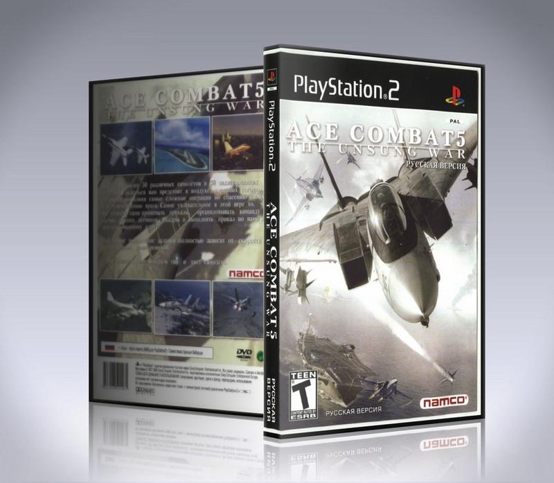 Ace Combat 5 The Unsung War (PS2)-thumb