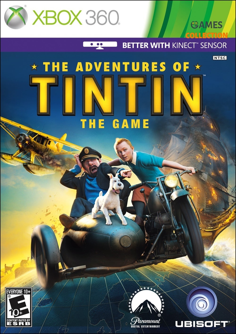 The Adventures of Tintin: The Game (XBOX360)-thumb