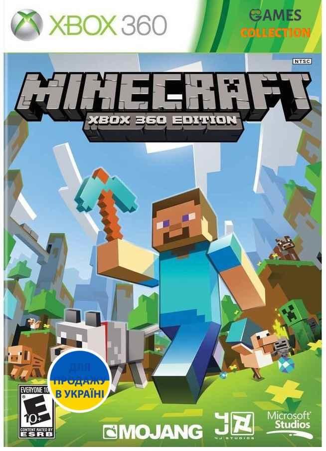 Minecraft Лицензия (XBOX360) Б/У-thumb